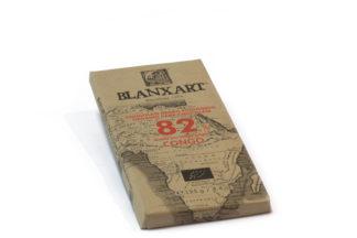 THEEmuze BLANXART 82% donkere chocolade CONGO